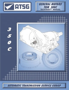 SHOP MANUAL TURBO HYDRAMATIC 350 BOOK TRANSMISSION REPAIR GM AUTOMATIC